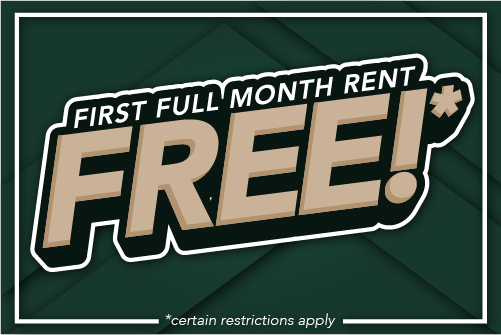 First full month rent free
